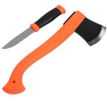 Morakniv Outdoor Kit - Axe, Fixed Blade Knife in Orange - Closeouts
