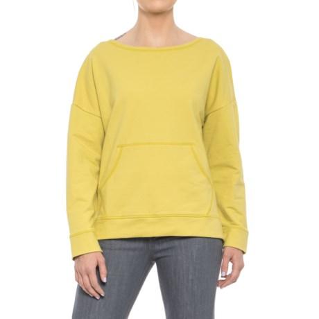 Morning Boxy Drop-Shoulder Shirt - Long Sleeve (For Women)