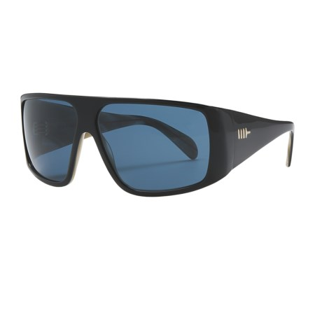 Mosley Tribes Quintana Sunglasses in Black/Horn/Lake