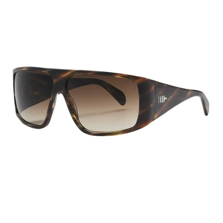 Mosley Tribes Quintana Sunglasses in Diego Tortoise/Brown Gradient