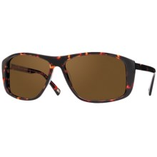 Mosley Tribes Redding Sunglasses - Polarized, Glass Lenses in Durban Tortoise/Shadow/Brown - Closeouts