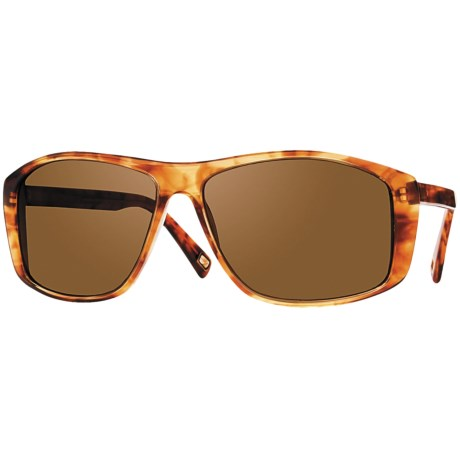 Mosley Tribes Redding Sunglasses - Polarized, Glass Lenses in Kalahari Tortoise/Brown