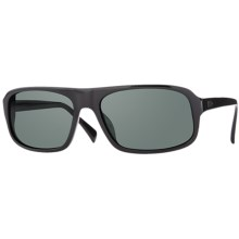 Mosley Tribes Sandoval Sunglasses - Glass Lenses in Black/Mineral Glass Grey - Closeouts