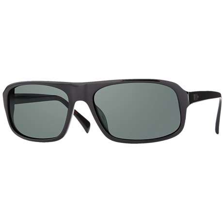 Mosley Tribes Sandoval Sunglasses - Glass Lenses in Black/Mineral Glass Grey