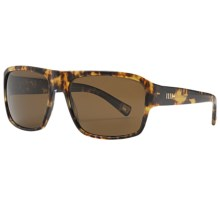 Mosley Tribes Simeon 59 Sunglasses - Polarized Glass Lenses in Leo Tortoise/Java - Closeouts