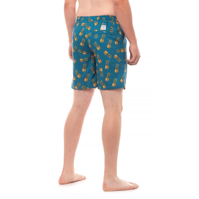 ebd3e3a7c0 Mosmann Pineapple Print Swim Trunks (For Men) - Save 57%