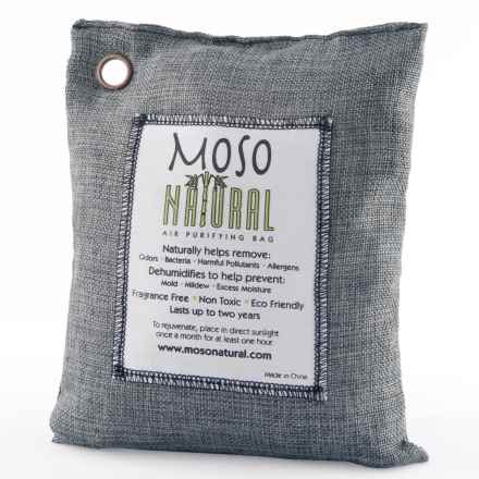 Moso Natural Air Purifying Bag - 500g in Charcoal - Overstock