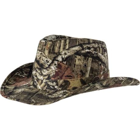 80f89a24a97559 Mossy Oak Camo Outback Hat - UPF 50+ (For Men) in Mossy Oak