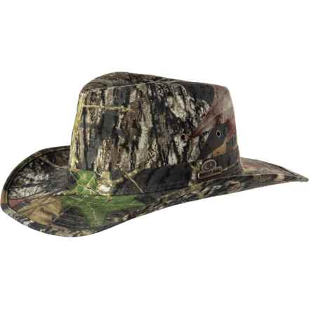 d22fcb50 Mossy Oak Camo Outback Hat - UPF 50+ (For Men) in Mossy Oak