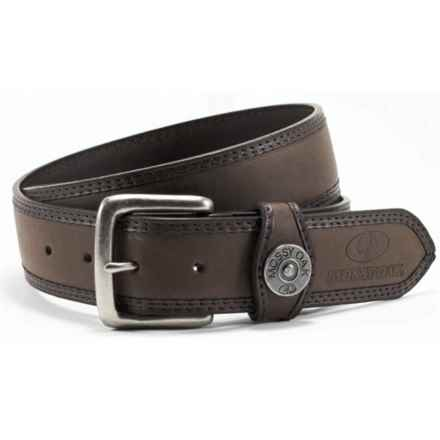 Mossy Oak Padded Belt - Antique Buckle (For Men) in Brown - Closeouts