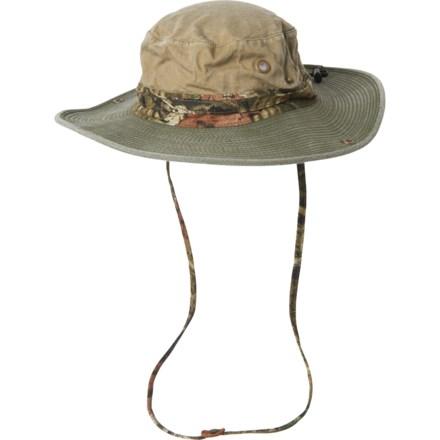 00ee46f2a9350 Mossy Oak Underbrim Boonie Hat - UPF 50+ (For Men) in Khaki/