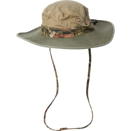 eb9391ab Mossy Oak Underbrim Boonie Hat - UPF 50+ (For Men) in Khaki/
