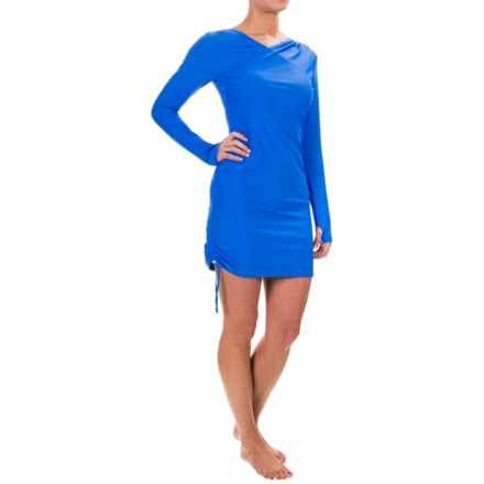 Mott 50 Kim Swim Dress - UPF 50, Long Sleeve (For Women) in Royal - Closeouts