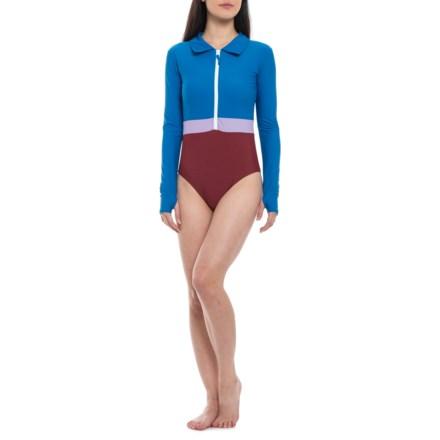 e7bd1d487525b Mott 50 Margherita One-Piece Swimsuit - UPF 50+, Long Sleeve (For