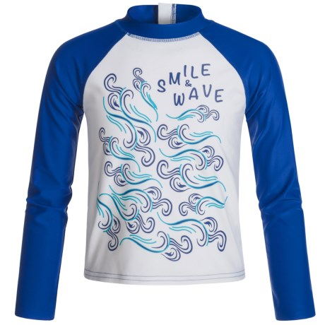 Mott 50 Mini Max Swim Shirt - Long Sleeve (For Big Boys)