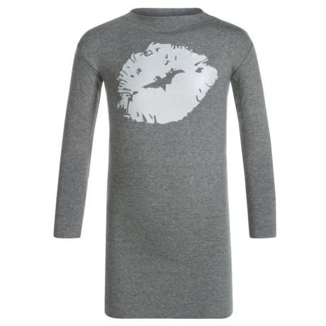 Mott 50 Mini Toni Dress - UPF 50, Long Sleeve (For Toddler Girls) in Duke Silver Kiss