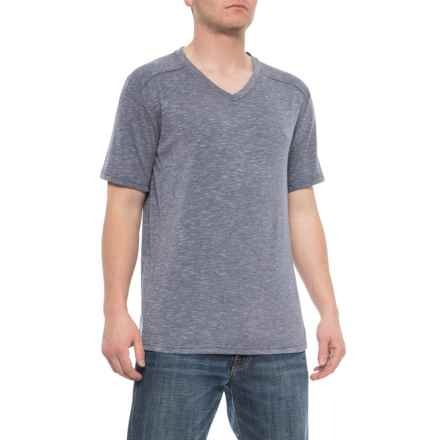 bd5ed19666ba Mountain and Isles Tri-Blend Slub Jersey T-Shirt - V-Neck (