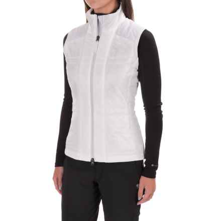 Mountain Force Ashlyn Vest - Insulated (For Women) in White - Closeouts