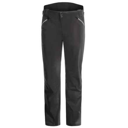 Mountain Force Carbon Ski Pants - Waterproof, Insulated (For Men) in Black/Smoked Pearl - Closeouts
