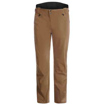 Mountain Force Carbon Ski Pants - Waterproof, Insulated (For Men) in Coffee - Closeouts