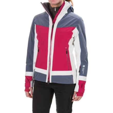 Mountain Force Cora Ski Jacket - Waterproof (For Women) in Indigo Blue/Cerise/White - Closeouts