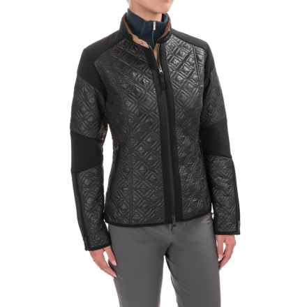 Mountain Force Diamond Insulation Jacket (For Women) in Black - Closeouts