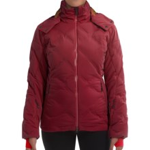 Mountain Force Grace Down Ski Jacket - 800 Fill Power (For Women) in Red Maple - Closeouts