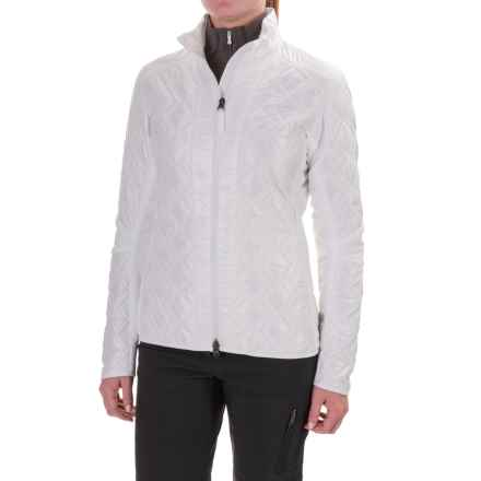 Mountain Force Insulation Jacket (For Women) in White - Closeouts