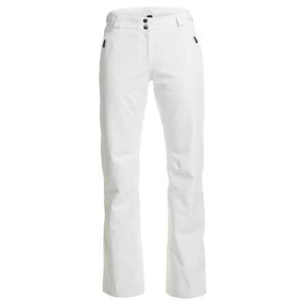Mountain Force Intro Pants - Waterproof, Insulated (For Women) in White - Closeouts