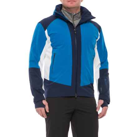 Mountain Force Jaxon Jacket - Waterproof, Insulated (For Men) in Sky Blue/White/Peacoat - Closeouts