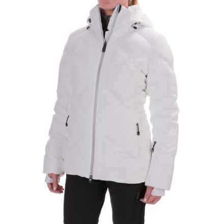 Mountain Force Juvel Down Jacket - Waterproof, 800 Fill Power (For Women) in White/Smoked Pearl Smoke Fur - Closeouts