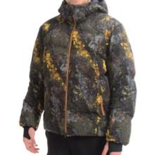 Mountain Force Phazz II Down Ski Jacket - Waterproof, 800 Fill Power (For Men) in Black Marble - Closeouts