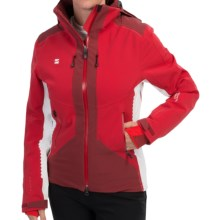 Mountain Force Rebelle Ski Jacket - Waterproof, Insulated (For Women) in Chili/Red Maple/Fired - Closeouts