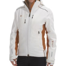 Mountain Force Rebelle Ski Jacket - Waterproof, Insulated (For Women) in White/Ginger - Closeouts