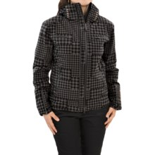 Mountain Force Rider II Printed Ski Jacket - Waterproof, Insulated (For Women) in Tartan Black - Closeouts