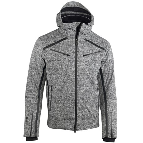 Mountain Force Rider Jacket - Waterproof, Insulated (For Men) in Canvas Black