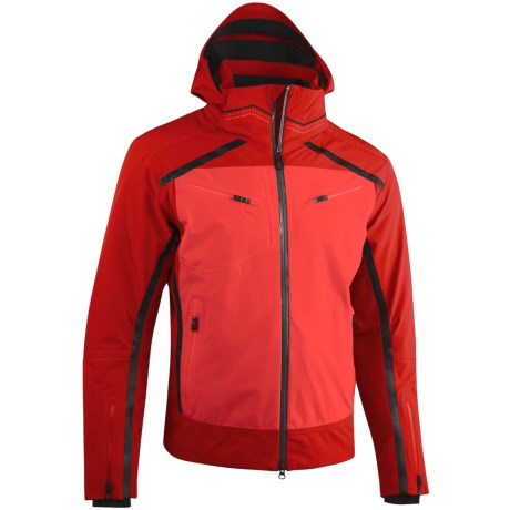 Mountain Force Rider Jacket - Waterproof, Insulated (For Men) in Black