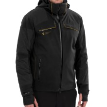 Mountain Force Rock Ski Jacket - Waterproof, Insulated (For Men) in Black - Closeouts