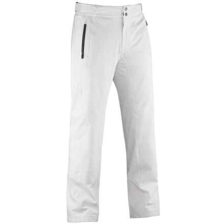 Mountain Force Sonic Ski Pants - Waterproof, Insulated (For Men) in Cloud White - Closeouts