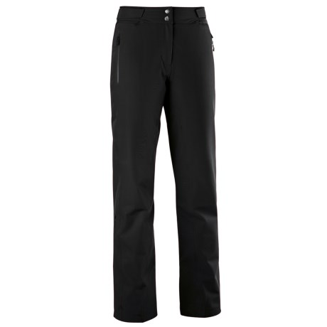 Mountain Force Sonic Ski Pants - Waterproof, Insulated (For Women) in Black