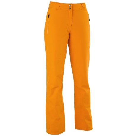 Mountain Force Sonic Ski Pants - Waterproof, Insulated (For Women) in Cheddar