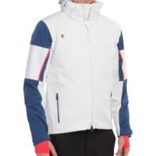 Mountain Force Striker Ski Jacket - Waterproof, Insulated (For Men) in White Herringbone/Black - Closeouts