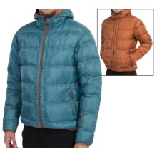 Mountain Force Troy Down Jacket - 800 Fill Power, Reversible (For Men) in Jeans Blue - Closeouts