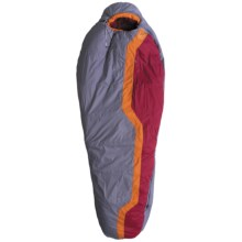 Mountain Hardwear -15°F Lamina Sleeping Bag - Long, Synthetic, Mummy in Titanium - Closeouts