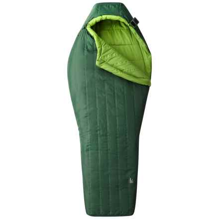 Mountain Hardwear 20°F Hotbed Flame Sleeping Bag - Mummy, Long in Forest - Closeouts