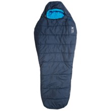 Mountain Hardwear 20°F Pinole II Sleeping Bag - Synthetic, Long Mummy in Graphite/Ocean Blue - Closeouts