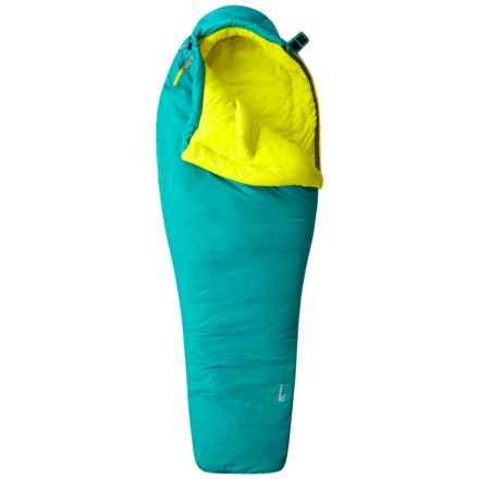 Mountain Hardwear 21°F Laminina Z Flame Sleeping Bag - Mummy, Long (For Women) in Emerald - Closeouts