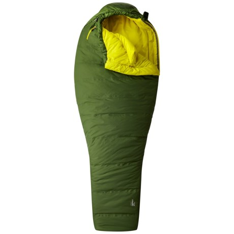 Mountain Hardwear 22°F Lamina Z Flame Sleeping Bag - Mummy, Long in Woodland