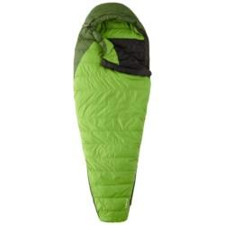 Mountain Hardwear 32°F Hibachi Down Sleeping Bag - 600 Fill Power, Long Mummy in Backcountry Green