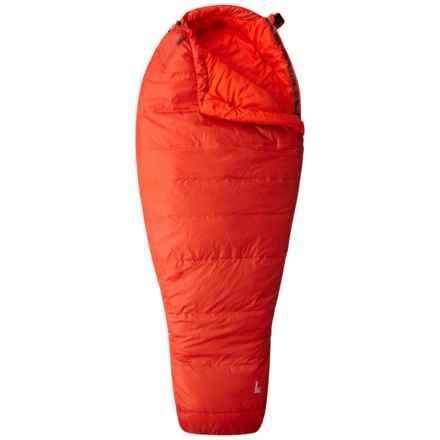 Mountain Hardwear 34°F Lamina Z Spark Sleeping Bag - Mummy, Long in Flame - Closeouts